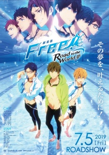 Free! Movie 3: Road to the World - Yume - Free! 3rd Season Movie, Free! Dive to the Future Movie