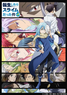 Tensei shitara Slime Datta Ken 2nd Season - That Time I Got Reincarnated as a Slime Season 2, Tensura 2