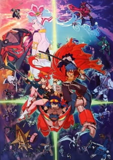 Tengen Toppa Gurren Lagann Movie 1: Gurren-hen - Gurren Lagann The Movie: Childhood's End	, Gekijouban Tengen Toppa Gurren Lagann: Guren-hen, Tengen Toppa Gurren Lagann the Movie