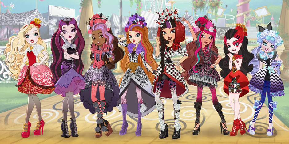 Xem phim Ever After High Season 1 ~ Season 4 - List of Ever After High webisodes | The Beginning | Season 1 | Season 2 | Season 3 | Season 4 Vietsub
