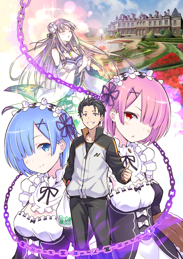 Re:Zero kara Hajimeru Isekai Seikatsu - Re: Life in a different world from zero | ReZero [Bluray]
