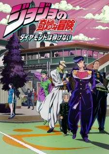 Xem phim JoJo no Kimyou na Bouken: Diamond wa Kudakenai (Ss4) - JoJo's Bizarre Adventure: Diamond is Unbreakable, JoJo no Kimyou na Bouken Part 4: Diamond wa Kudakenai, Diamond is not Crash Vietsub