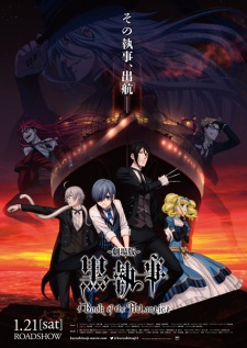 Xem phim Kuroshitsuji Movie: Book of the Atlantic - Black Butler: Book of the Atlantic ~ Hắc Quản Gia Movie Vietsub