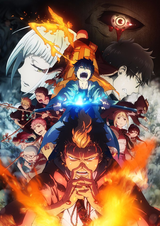 Ao no Exorcist: Kyoto Fujouou-hen - Ao no Exorcist Season 2