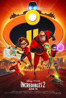 The Incredibles 2 - Incredibles 2 (2018)