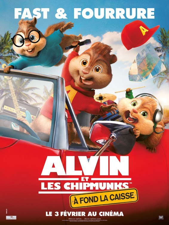 Xem phim Alvin and the Chipmunks: The Road Chip - Alvin and the Chipmunks 4 Vietsub