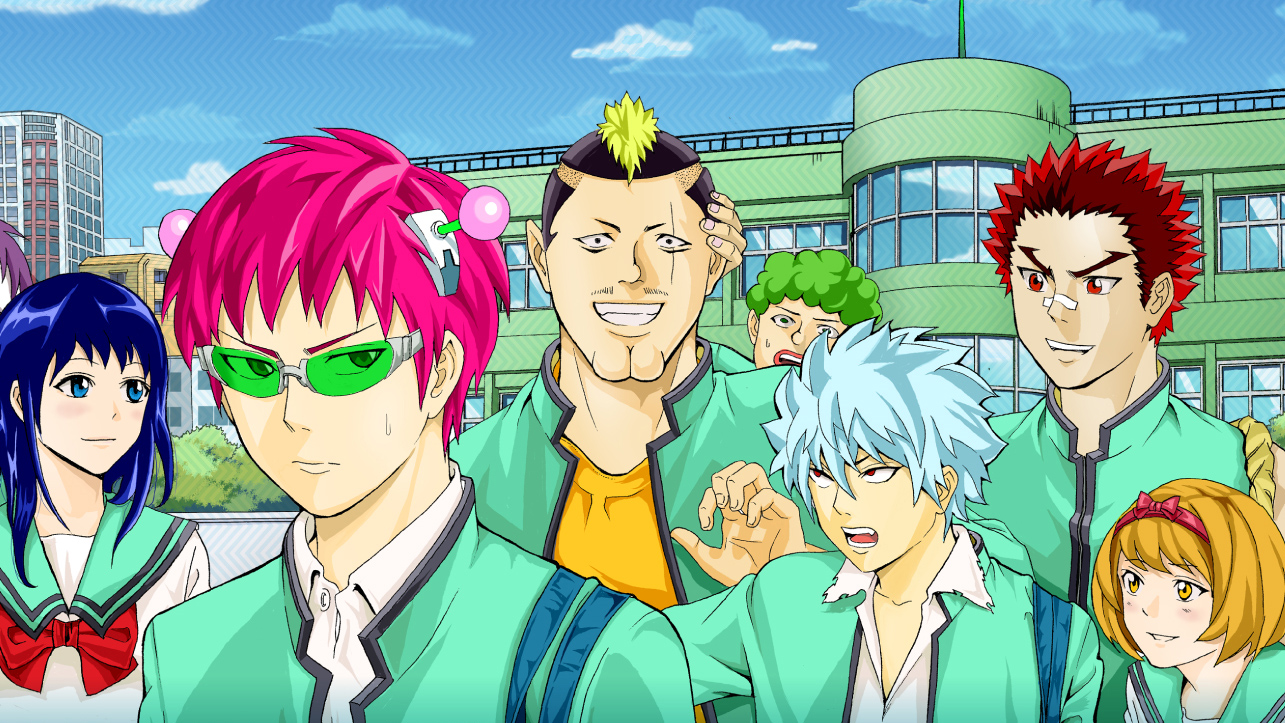 Xem phim Saiki Kusuo no Ψ-nan (TV) - The Disastrous Life of Saiki K. | Saiki Kusuo no Psi Nan Vietsub