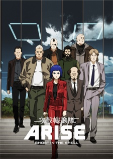 Ghost In The Shell: Arise - Border:1 Ghost Pain - 攻殻機動隊ARISE -GHOST IN THE SHELL- border:2 Ghost Whispers