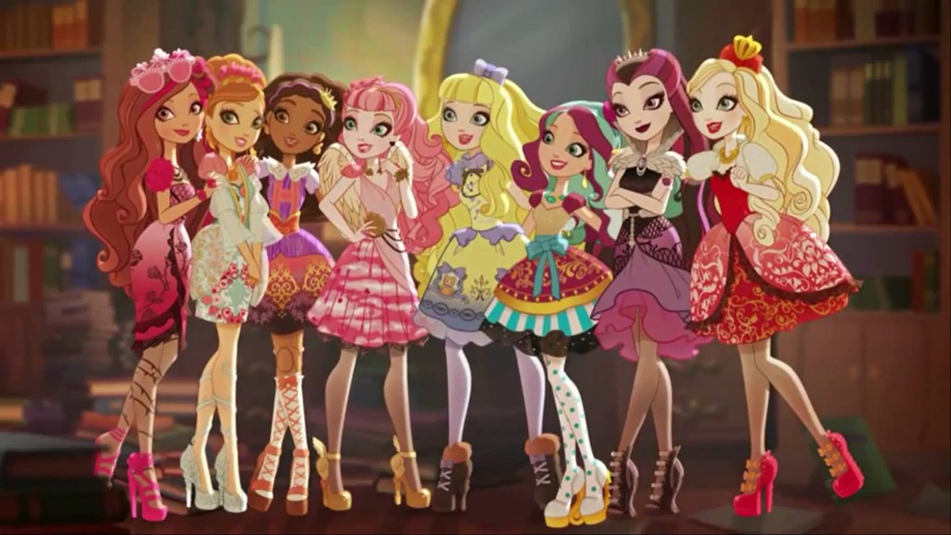 Xem phim Ever After High Movie 1 : Thronecoming - Ever After High Special S3 Vietsub