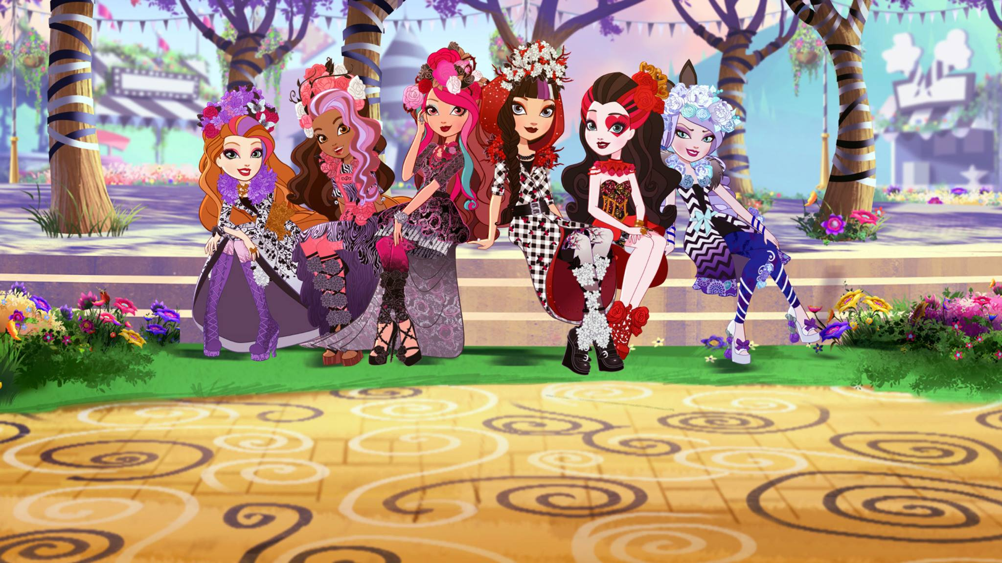 Xem phim Ever After High Movie 2 : Spring Unsprung - Ever After High Special S4 Vietsub