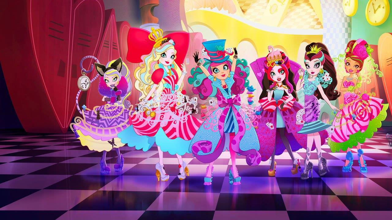 Xem phim Ever After High Movie 3 : Way Too Wonderland - Ever After High Special S5 Vietsub
