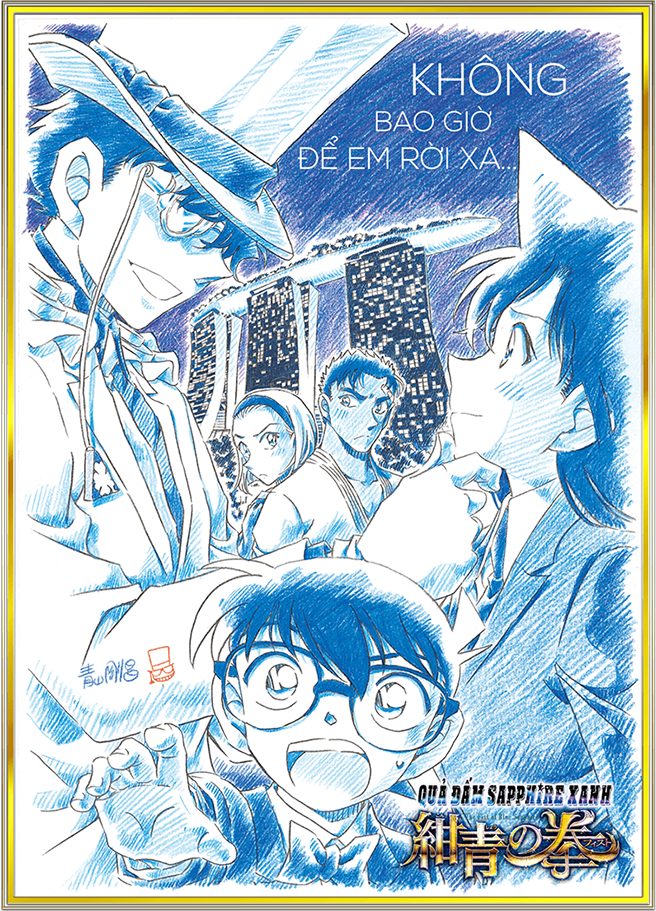 Detective Conan Movie 23: The Fist of Blue Sapphire - Detective Conan Movie 23: Quả đấm Sapphire Xanh
