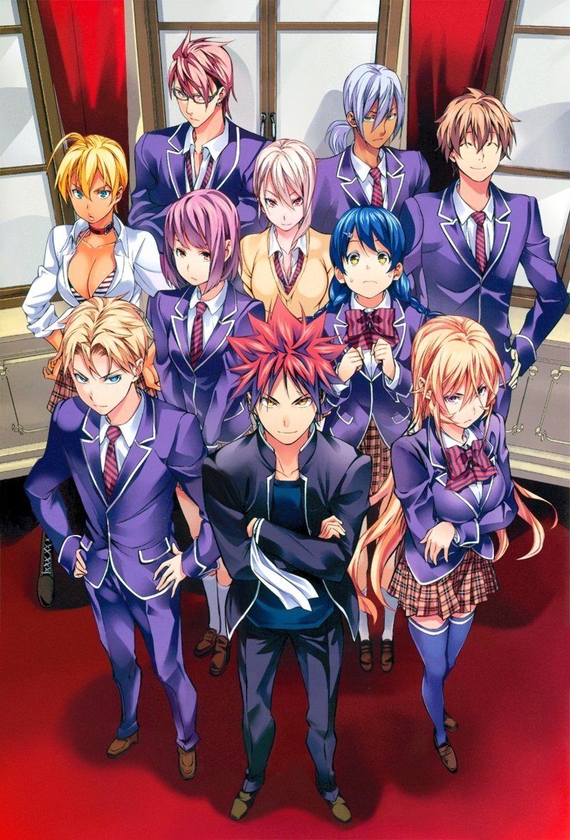 Shokugeki no Souma: San no Sara - Toutsuki Ressha-hen (Ss4) - Shokugeki no Soma 4th Season, Food Wars! The Third Plate 2nd cour, Shokugeki no Souma: San no Sara (2018), Vua bếp Soma Phần 4