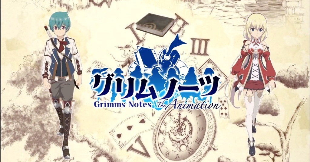 Xem phim Grimms Notes The Animation - Grimms Notes The Animation Vietsub