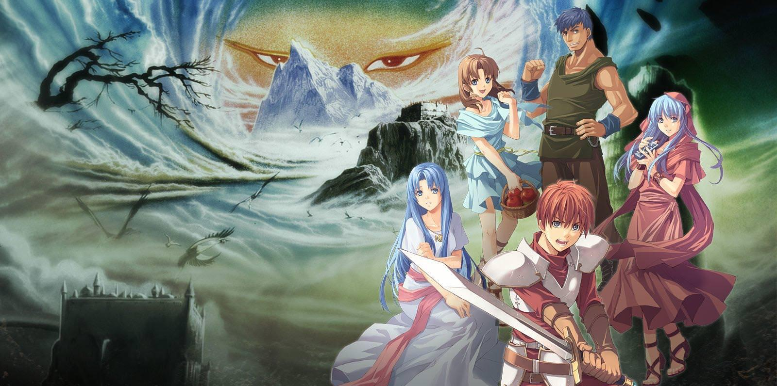Xem phim Ancient Books of Ys II (Ss2) - Ys: Tenkuu no Shinden - Adol Christine no Bouken, Ys II: Castle in the Heavens Vietsub