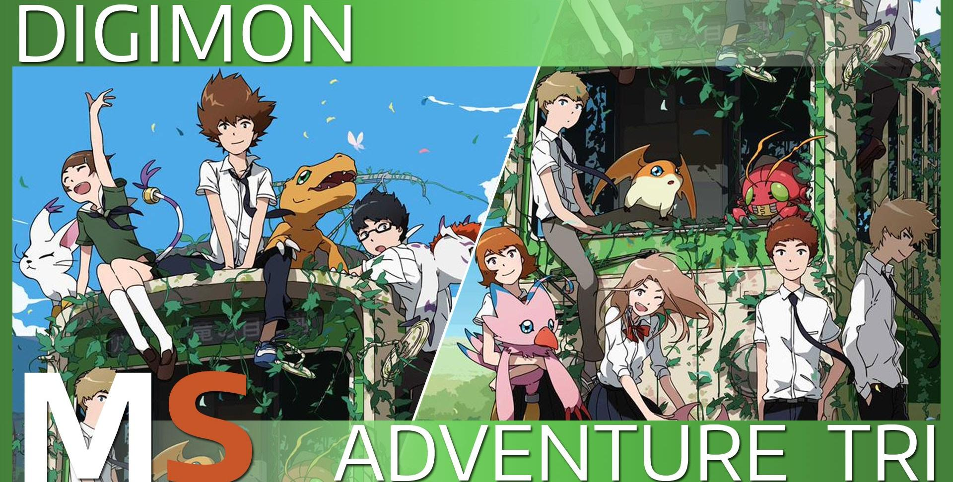 Xem phim Digimon Adventure tri. 1: Saikai - Digimon Adventure tri. Chapter 1: Reunion Vietsub