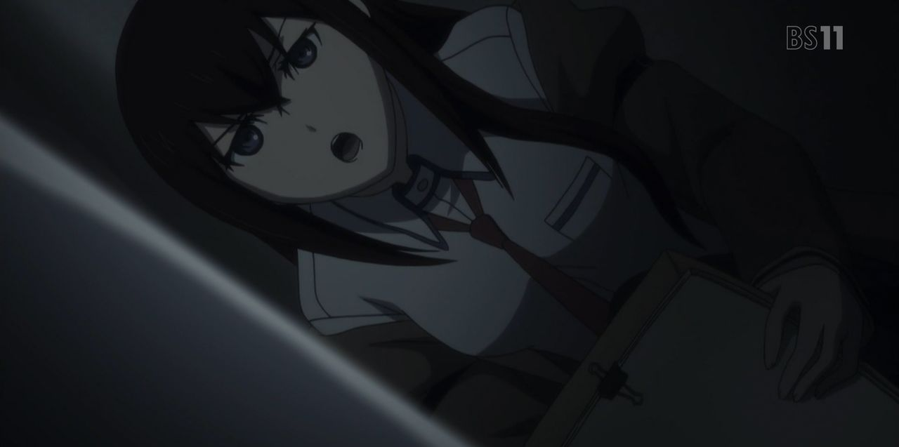 Steins;Gate: Kyoukaimenjou no Missing Link - Divide By Zero - Steins Gate: Episode 23 (β), Open the Missing Link