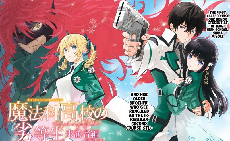 Xem phim Mahouka Koukou no Rettousei: Raihousha-hen (Ss2) - The Irregular at Magic High School: Visitor Arc Vietsub