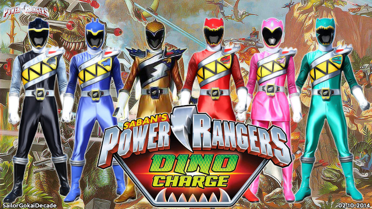 Xem phim Power Rangers Dino Charge - Dino Charge SS1 Vietsub